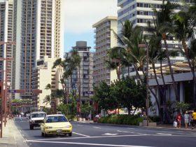 ハワイのショッピングモール