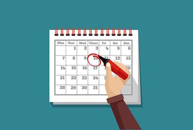新年会の予約はいつまでにする?
