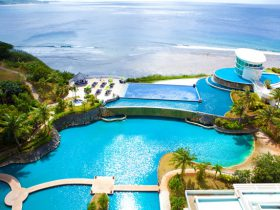 シェラトン・ラグーナ・グアム・リゾートのプール