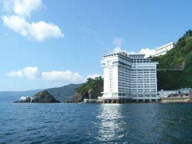 熱海にあるホテルニューアカオ
