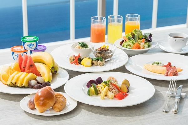 ロワジールホテル那覇朝食