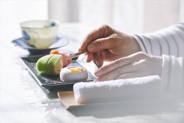 社内イベント_和菓子作り体験