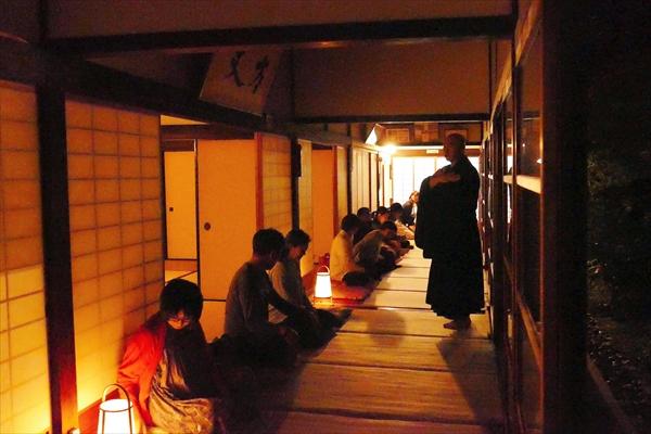 社内イベント_夜空の坐禅_京都
