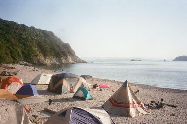 地ノ島キャンプ