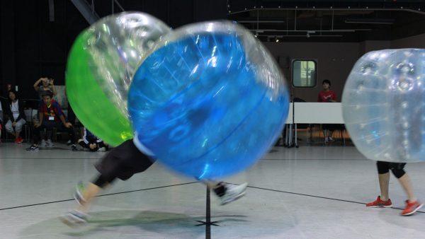 出張プランもあるバブルサッカー