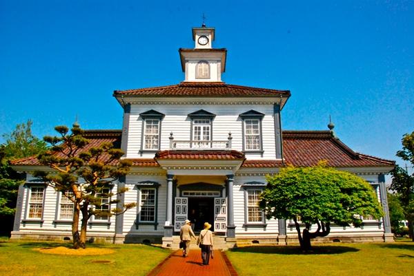 旧 西田川郡役所(致道博物館内)(山形県鶴岡市家中新町