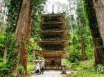 修験道、山岳信仰の山 羽黒山 五重塔