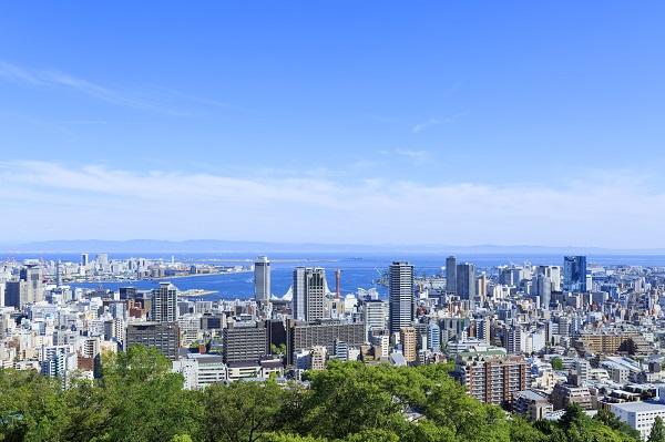 神戸の都市風景