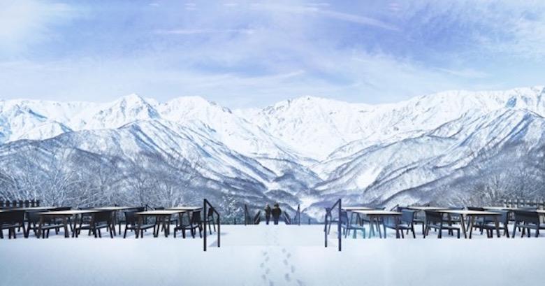 360度パノラマの絶景を見渡せるスノーリゾート