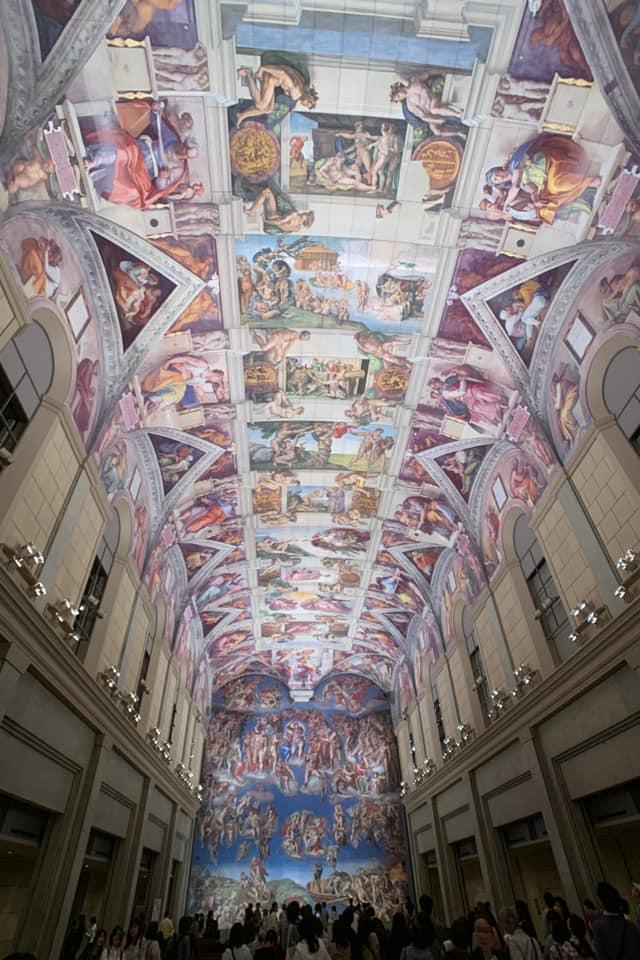 大塚美術館に再現されている礼拝堂