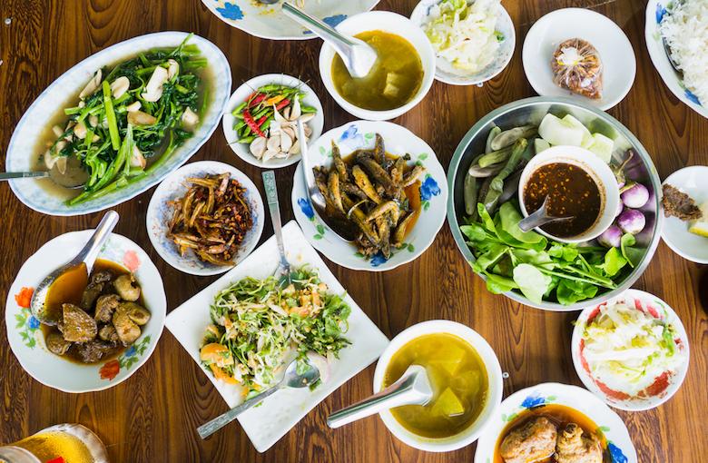ミャンマーの食事