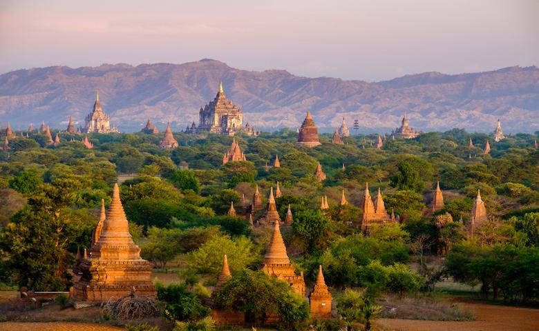 ミャンマーの遺跡群