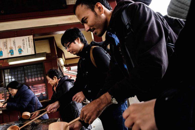 神社仏閣詣でのお作法「手水」