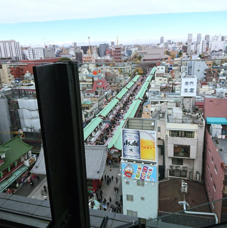 浅草文化観光センターからの眺望