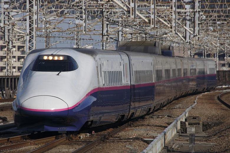上越新幹線で新潟へ