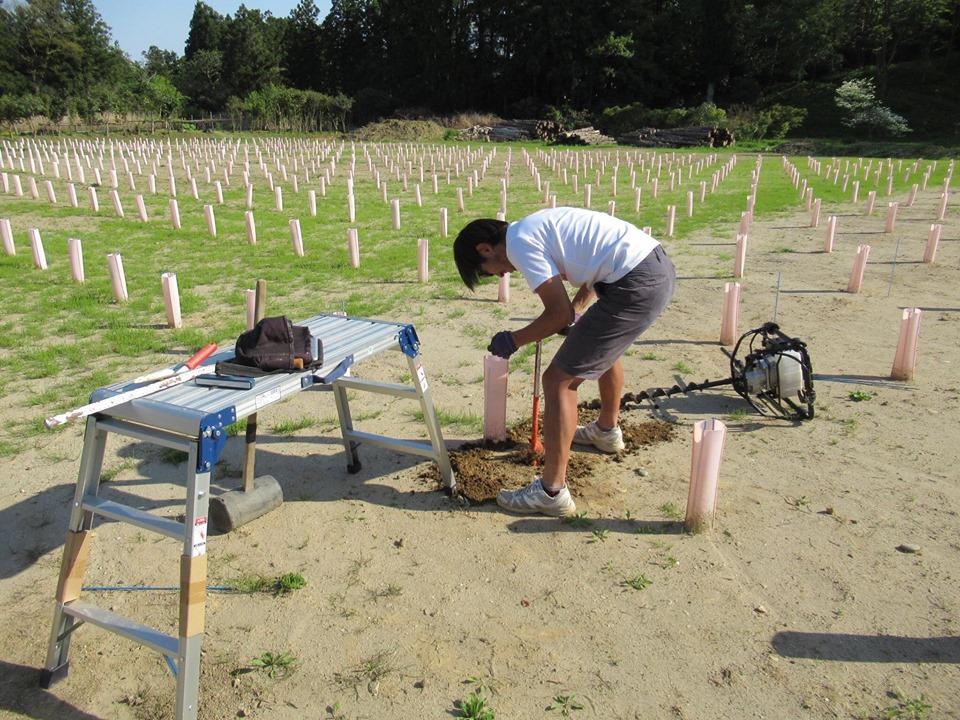 新潟市の若きワイン醸造家・坂爪清志さん