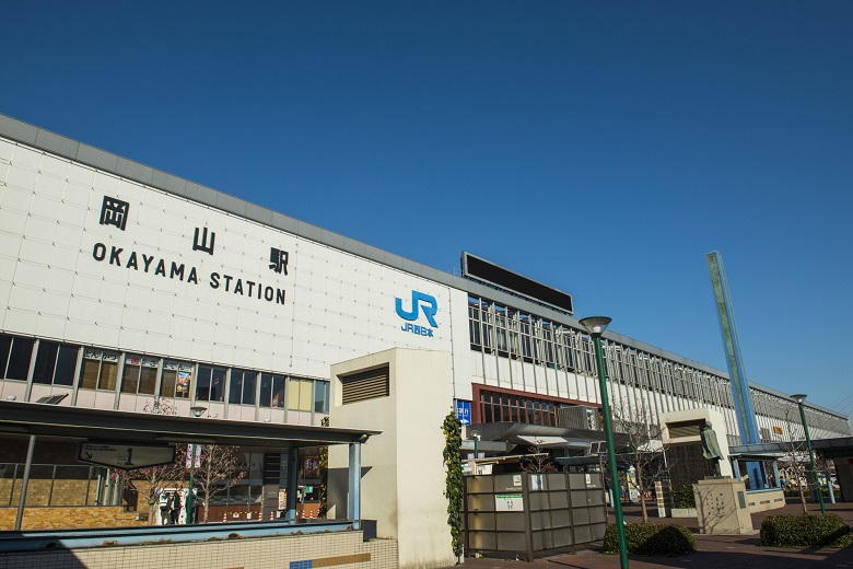JR岡山駅