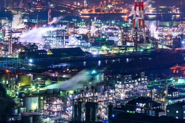 水島工場夜景