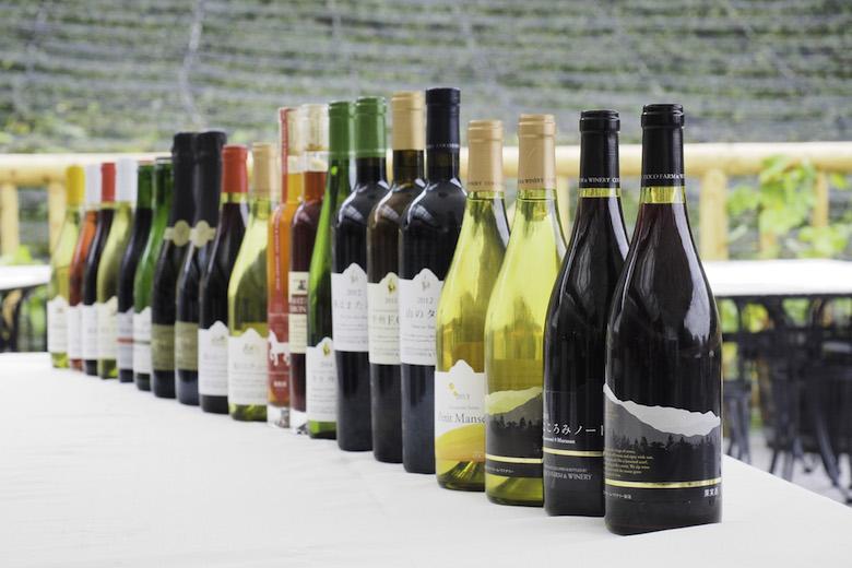 ここファームのワイン