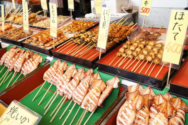 寺泊魚市場1