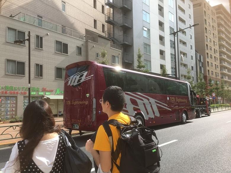コワーキングバスツアーは五反田出発