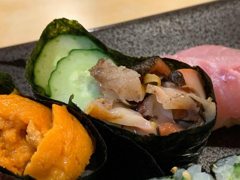 和可奈寿司の握り寿司