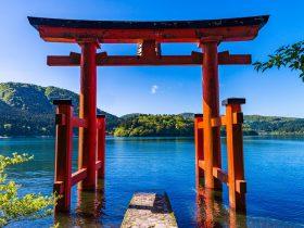箱根神社・平和の鳥居