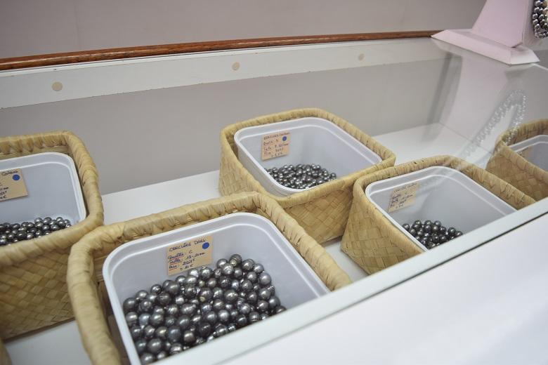 黒真珠のオリジナルアクセサリーが作れる店
