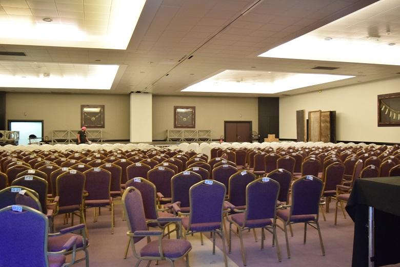 タヒチパールビーチリゾートのコンベンションホール