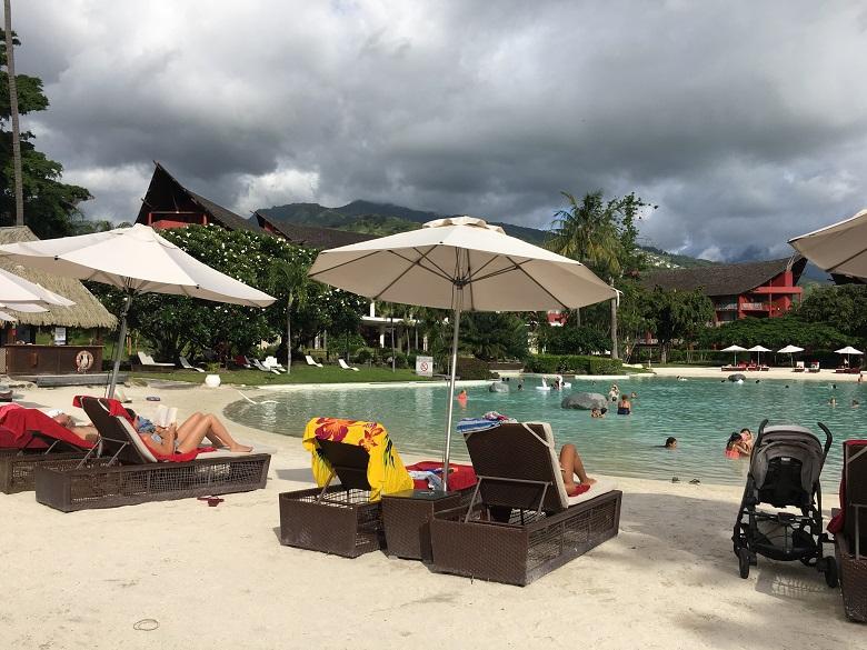 「タヒチイアオラビーチリゾートマネイジドバイソフィテル」