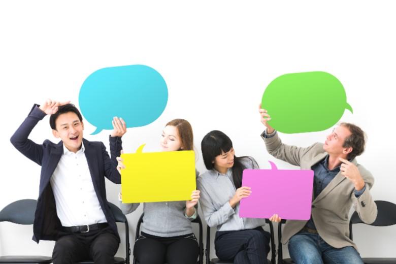共通のコミュニケーションツールを使う