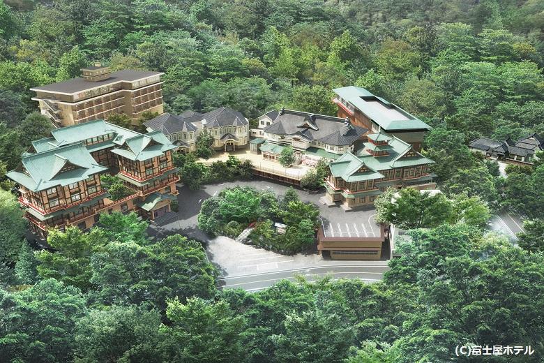箱根の老舗クラシックホテル「富士屋ホテル」