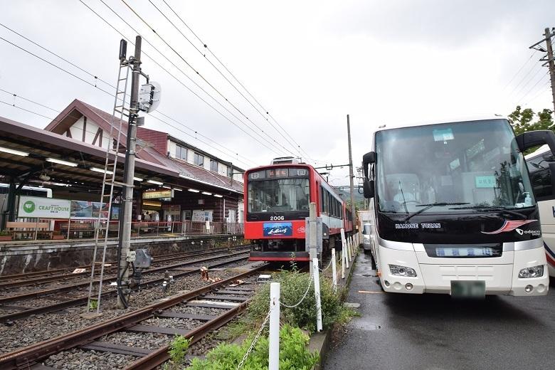 箱根登山電車復旧