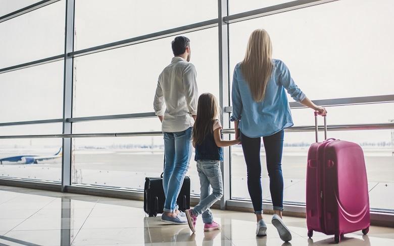 家族同伴の視察旅行