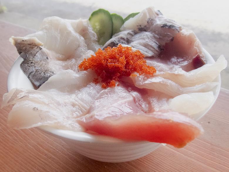 海鮮田代丼