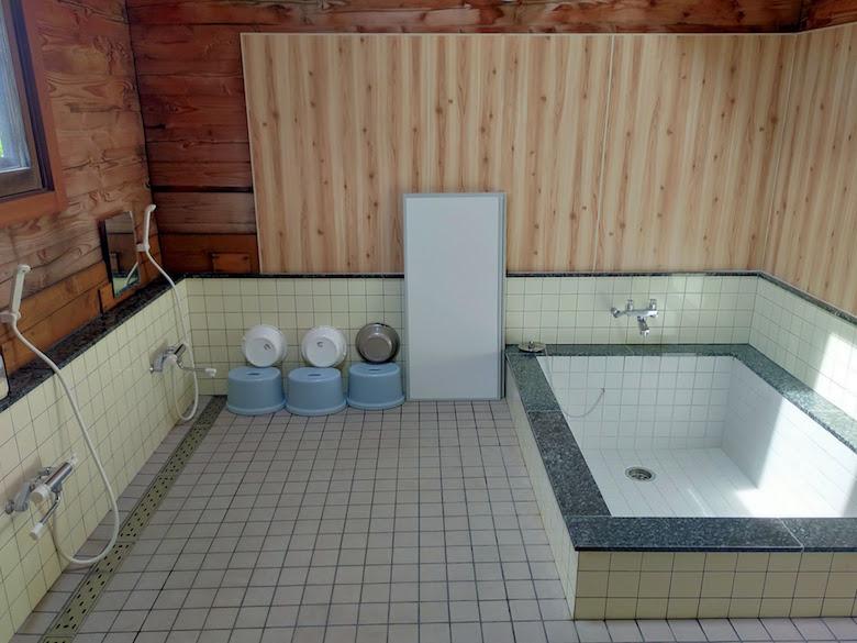 センターハウスの大浴場